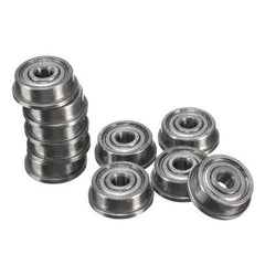10pcs F623zz Mini Metal Double Shielded Flanged Ball Bearings For 3D Printer