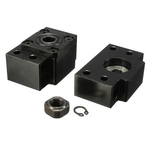 BK10+BF10 Ball Screw End Support Bearing Blocks For SFU1204 CNC Machine Parts