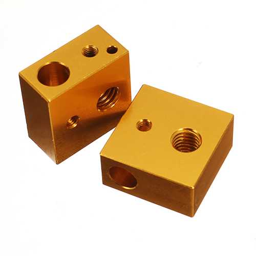Creality 3D® 2PCS 20*20*10mm Aluminum Heating Block For 3D Printer