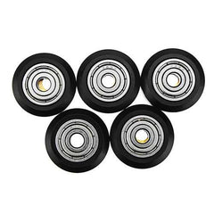 TEVO?® 5Pcs One Pack 3D Printer Part POM Material Big Pulley Wheel with Bearings for V-slot