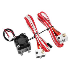 1.75mm/3.0mm Fialment 0.4mm Nozzle Upgraded Dual Head Extruder Kit for 3D Printer