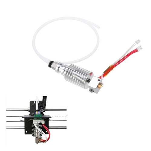 Anycubic?® 12V 40W Updated Straight-type Extruder V5 J-head Hotend For I3 Mega 3D Printer