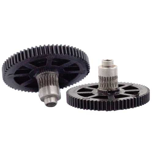 Titan Extruder 66 Tooth Modulus 0.5 Stainless Steel Big Gear For 3D Printer