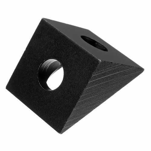 Aluminum Angle Corner Triangle Connector -Fit 20mm Profile Extruder For 3D Printer