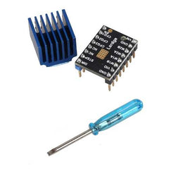 Stepper Motor Driver Module 256 Subdivision With New Heatsink