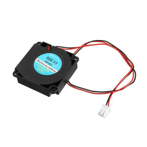 12V 40*40*10mm Turbo Hydraulic Cooling Fan with XH2.54-2P Wire for 3D Printer