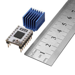 4A 50V 3D Printer Stepstick S109 Stepper Motor Driver with Heatsink for 57 Stepper Motor/Pololu Pin