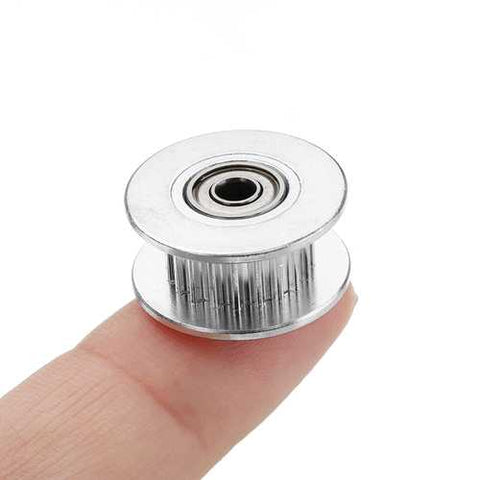 10pcs 20T GT2 Aluminum Timing Pulley With Tooth For DIY 3D Printer