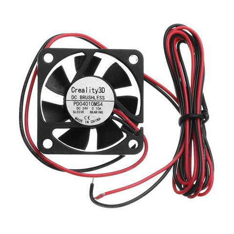 Creality 3D?® 40*40*10mm 24V High Speed DC Brushless 4010 Nozzle Cooling Fan For 3D Printer Ender-3
