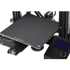 235mm Ultrabase Black Carbon Silicon Crystal Glass Hot Bed Plate