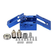 Blue DIY Reprap Bulldog All-metal 1.75mm Extruder