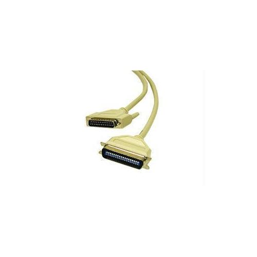 12FT IEEE-1284 DB25 MALE TO CENTRONICS 36 MALE PARALLEL PRINTER CABLE