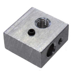 MK7/MK8 20*20*10mm Aluminum Heating Block For 3D Printer