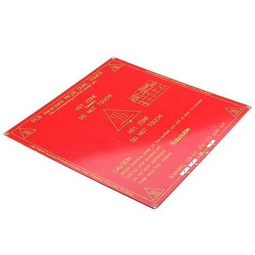 MK2B PCB Heated Bed For 3D Printer RepRap Mendel