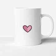 SMALL HEART LOVE MUG