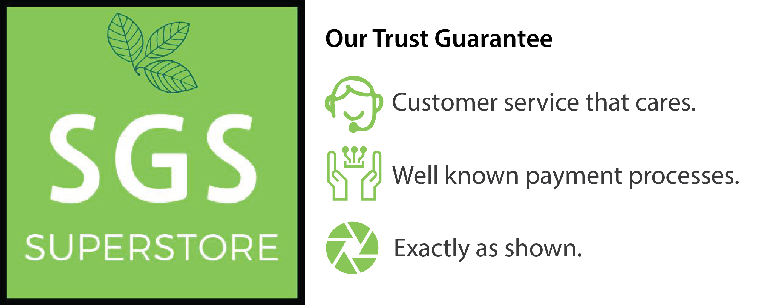 SGS Superstore Trust Guarantee