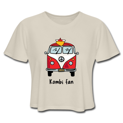 Kombi Fan Red Women's Cropped T-Shirt - dust