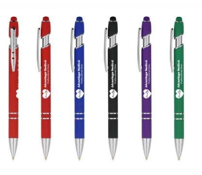 Ultima Antimicrobial Stylus Gel Pen