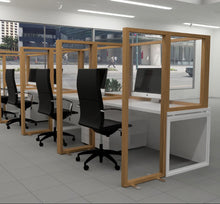 Load image into Gallery viewer, Safety Screen Partitions - Wood