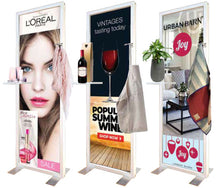 Load image into Gallery viewer, Merchandise Magnetic Marketing Stand
