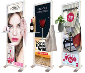 Merchandise Magnetic Marketing Stand