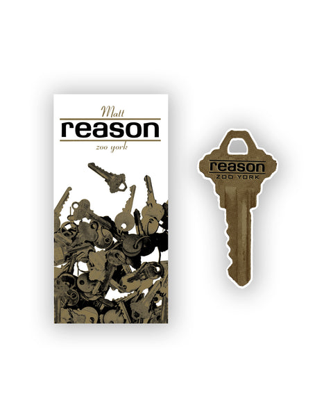 MATT REASON KEY STICKER
