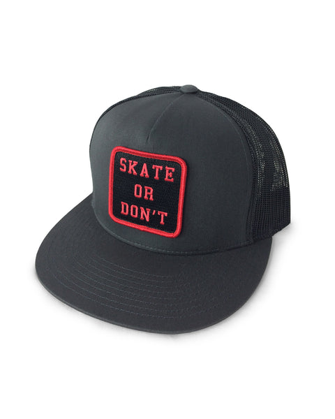 SKATE OR DONT (GRAY)