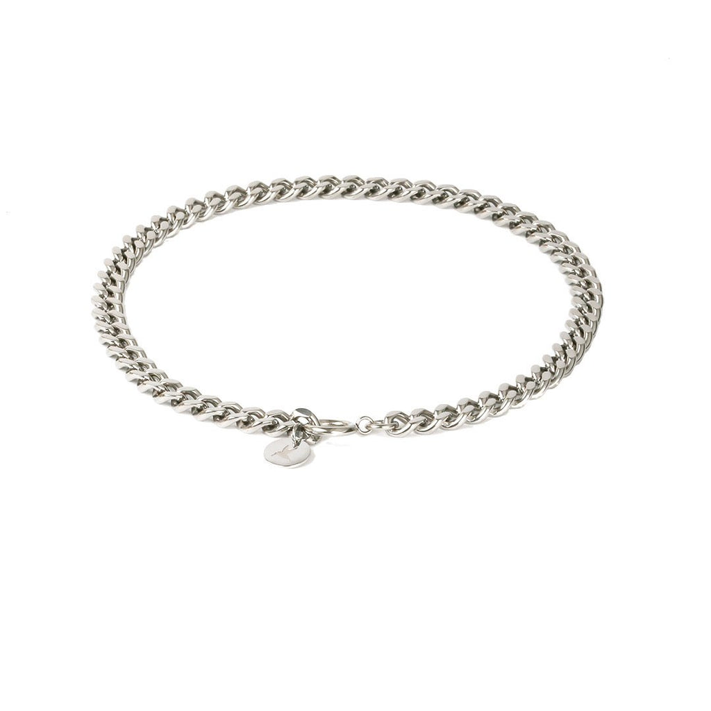 Chunky chain halskjede -Silver