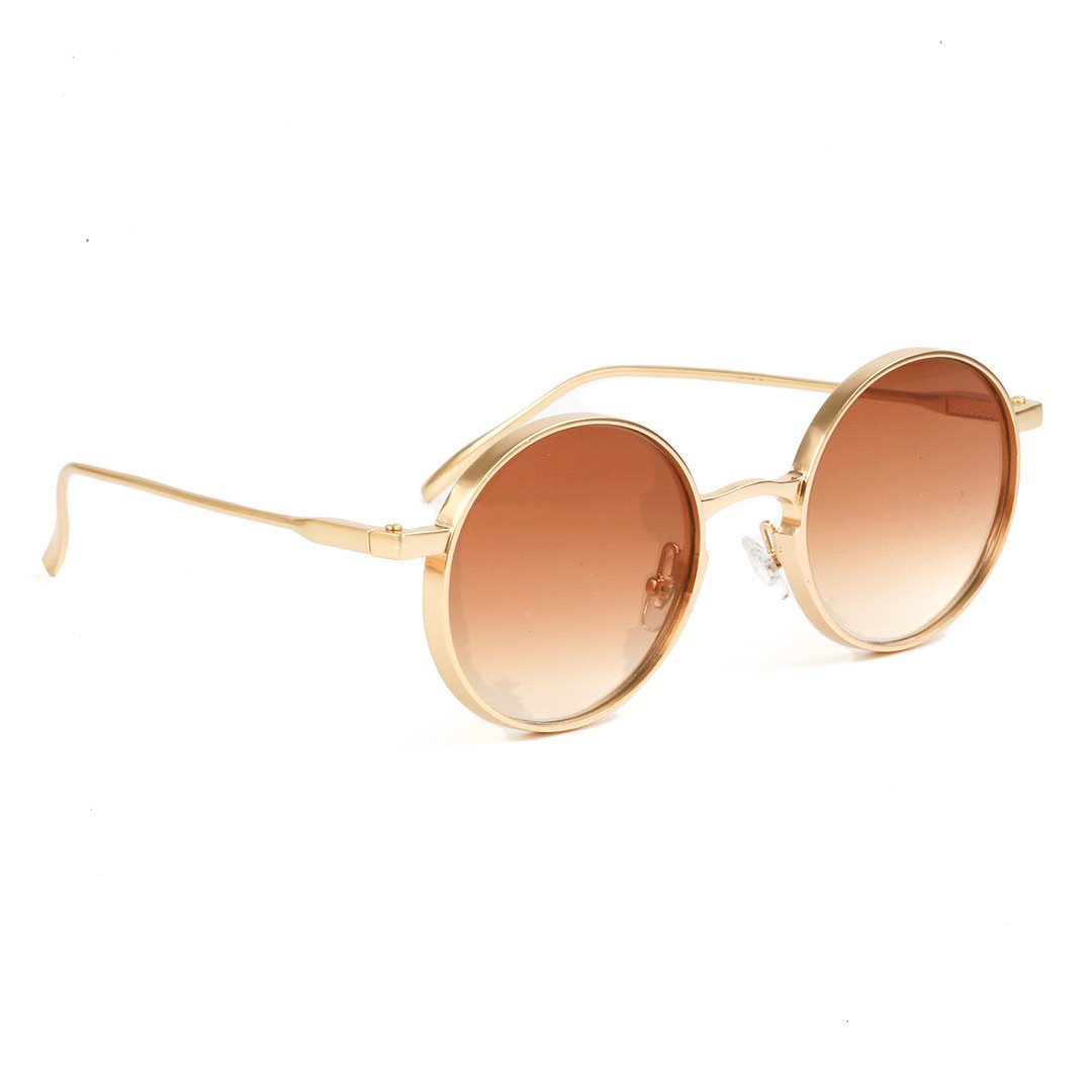 PREPPY Lauren solbriller - Gold/Brown tint