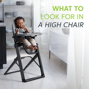 What to look for in a high chair?
