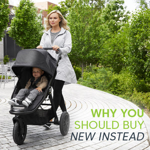 Why a new stroller is always better than second hand