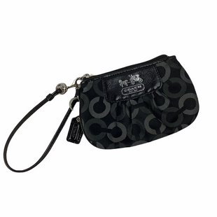 Primary Photo - BRAND: COACH STYLE: WRISTLET COLOR: BLACK SKU: 160-160228-3585