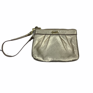 Primary Photo - BRAND: COACH STYLE: WRISTLET COLOR: GOLD SKU: 160-160219-1481