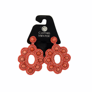 Primary Photo - BRAND: STELLA AND DOT STYLE: EARRINGS COLOR: CORAL SKU: 160-160228-4610