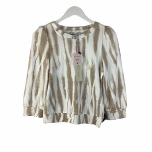 Primary Photo - BRAND: RACHEL ZOE STYLE: TOP LONG SLEEVE COLOR: TAN SIZE: XS SKU: 160-160228-4524
