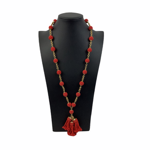 Primary Photo - BRAND: J CREW STYLE: NECKLACE COLOR: RED SKU: 160-160218-3282