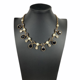 Primary Photo - BRAND: ANN TAYLOR STYLE: NECKLACE COLOR: BLACK SKU: 160-160218-3314
