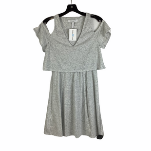 Primary Photo - BRAND: BCBGENERATION STYLE: DRESS SHORT SHORT SLEEVE COLOR: GREY SIZE: XS SKU: 160-160197-19119