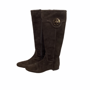 Primary Photo - BRAND: TORY BURCH STYLE: BOOTS DESIGNER COLOR: BROWN SIZE: 6 OTHER INFO: AS IS SKU: 160-160180-15504