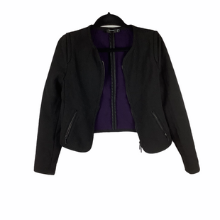Primary Photo - BRAND:    CLOTHES MENTOR STYLE: BLAZER JACKET COLOR: BLACK SIZE: S OTHER INFO: HALLHUBER - SKU: 160-160216-492