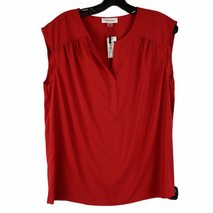Primary Photo - BRAND: CALVIN KLEIN STYLE: TOP SLEEVELESS COLOR: RED SIZE: L SKU: 160-160218-4294