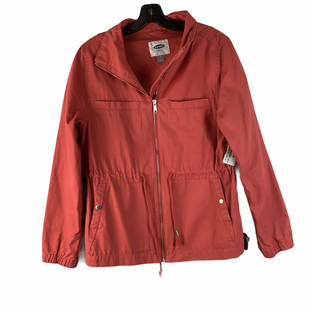 Primary Photo - BRAND: OLD NAVY STYLE: JACKET OUTDOOR COLOR: CORAL SIZE: M SKU: 160-160186-10689