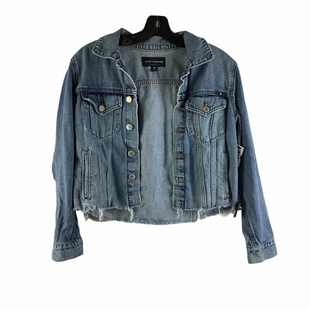 Primary Photo - BRAND: LUCKY BRAND STYLE: JACKET OUTDOOR COLOR: DENIM SIZE: S OTHER INFO: AS IS(LIGHT WEAR) SKU: 160-160197-18434