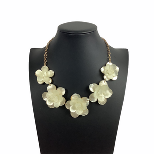 Primary Photo - BRAND: NEW YORK AND CO STYLE: NECKLACE COLOR: CREAM SKU: 160-160201-1440