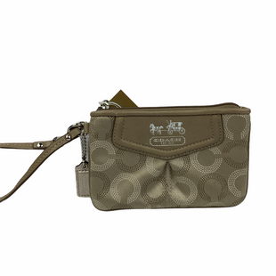 Primary Photo - BRAND: COACH STYLE: WRISTLET COLOR: TAN SKU: 160-160228-464