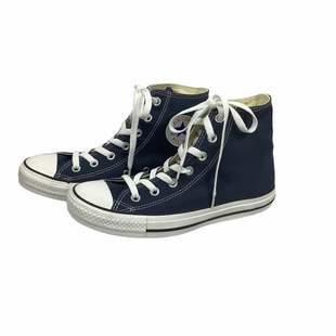 Primary Photo - BRAND: CONVERSE STYLE: SHOES ATHLETIC COLOR: NAVY SIZE: 8SKU: 160-160208-605