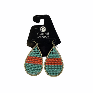 Primary Photo - BRAND:    CLOTHES MENTOR STYLE: EARRINGS COLOR: ORANGE BLUE SKU: 160-160228-4623
