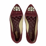 Photo #2 - BRAND: MICHAEL BY MICHAEL KORS <BR>STYLE: SHOES DESIGNER <BR>COLOR: MAROON <BR>SIZE: 9 <BR>OTHER INFO: AS IS/ WEAR <BR>SKU: 160-160216-164