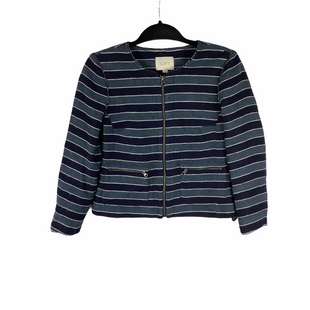 Primary Photo - BRAND: ANN TAYLOR LOFT STYLE: BLAZER JACKET COLOR: BLUE SIZE: 2 SKU: 160-160216-952