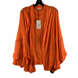 Primary Photo - BRAND:    CLOTHES MENTOR STYLE: SWEATER CARDIGAN LIGHTWEIGHT COLOR: ORANGE SIZE: S OTHER INFO: ANDTHEWHY - SKU: 160-160197-18252